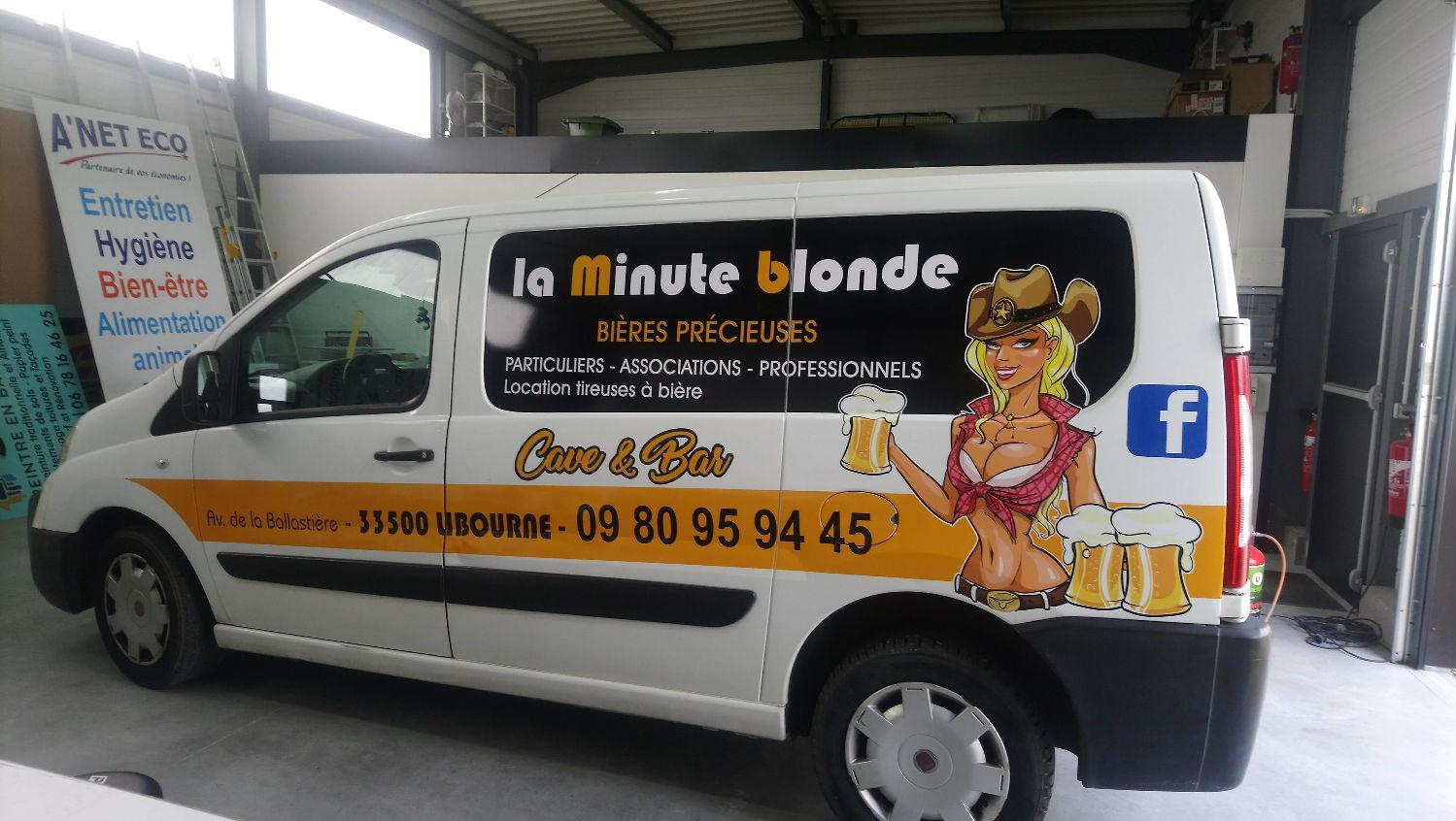 La Minute Blonde Libourne